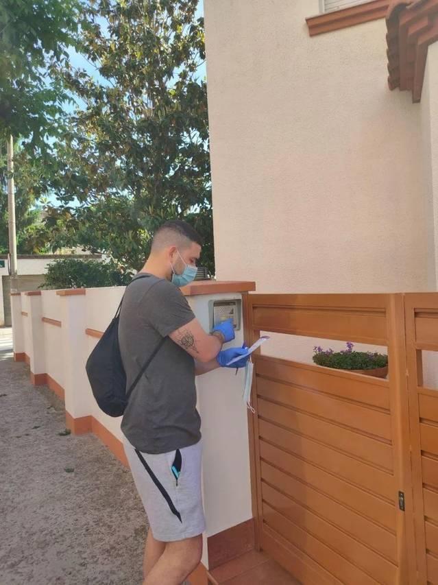Balaguer finalitza el repartiment de més de 17 mil mascaretes que el govern de la ciutat havia comprat per distribuir-les entre la ciutadania