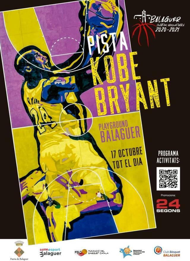 Balaguer inaugurarà l'espai playground - Kobe Bryant el proper diumenge
