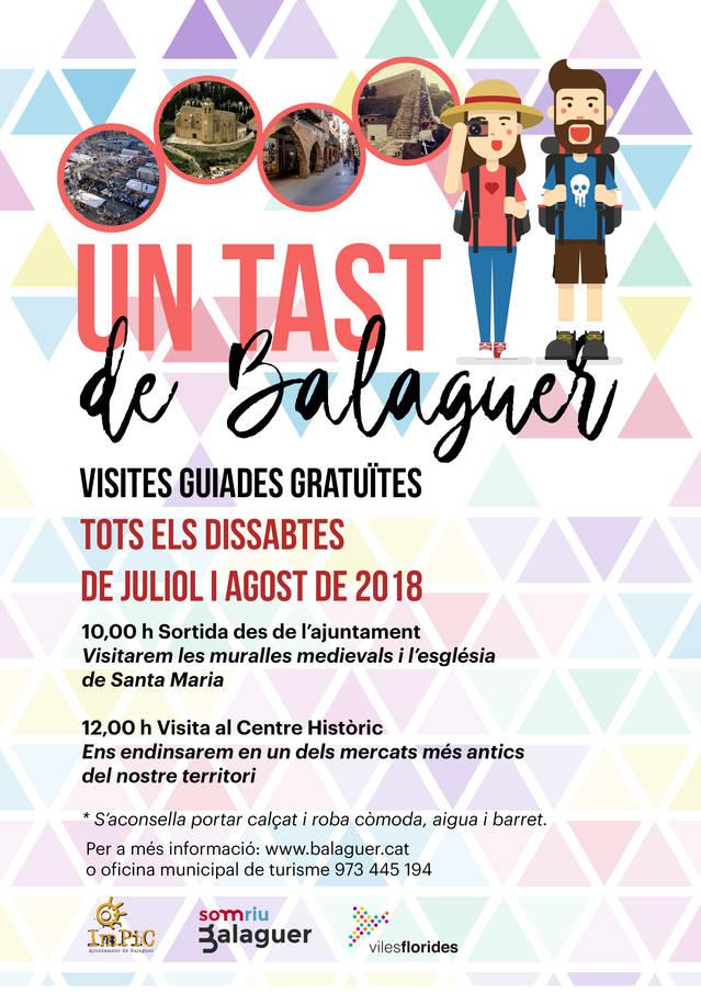 Balaguer prepara l'entrada d'estiu amb interessants ofertes turístiques