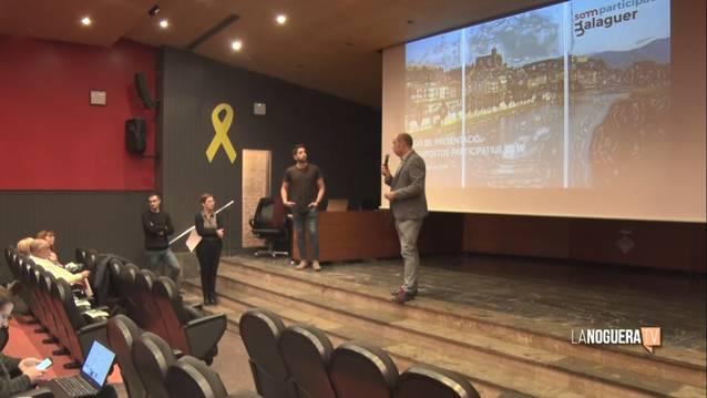 Balaguer presenta les propostes per al procés participatiu del pressupost