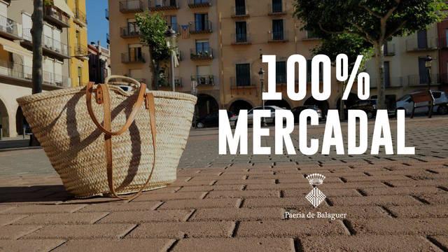 Balaguer recuperarà aquest dissabte 20 de juny el mercat setmanal del mercadal amb el 100% de les parades