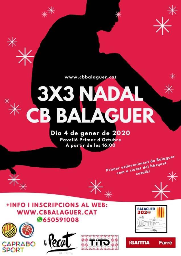Balaguer serà la Ciutat del Bàsquet Català 2020