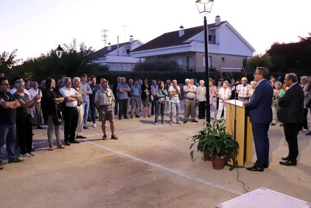 Bellcaire d'Urgell inaugura la remodelació del passeig i la plaça de la Urbanització Antoni Gaudí i celebra la Festa de les Cassoles