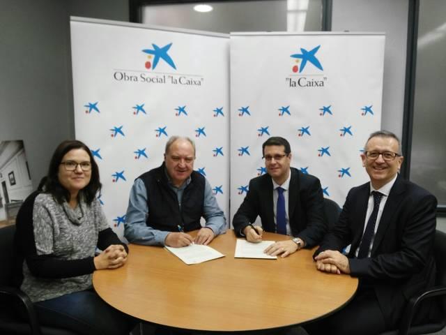 Càritas i La Caixa signen un conveni de suport per ajuts escolars a Balaguer