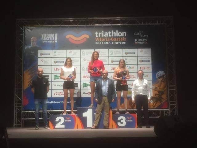 Carolina Sánchez aconsegueix la primera posició en la seva categoria al Half de Vitòria