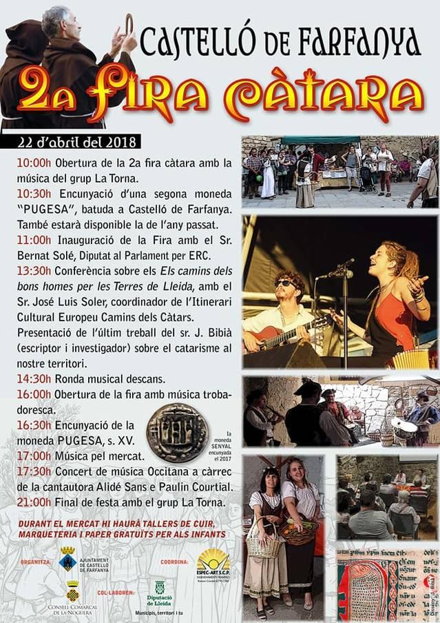 Castelló de Farfanya celebra, aquest diumenge, la 2ª Fira Càtara