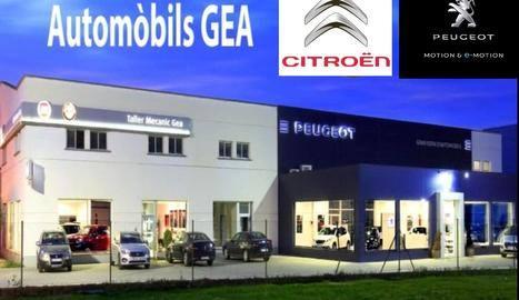 Citroen fitxa per Automòbils Gea de Balaguer