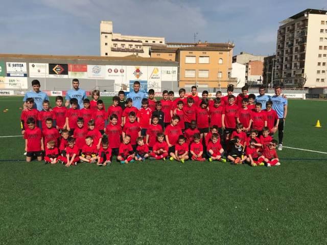 Comença el Campus de Setmana Santa del CF Balaguer