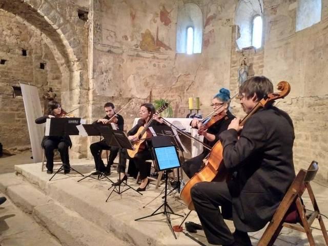 Concert a Sta. Maria de Palau de Rialb