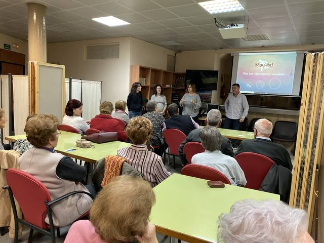 Conferències sobre neuroprevenció als casals premiats a la 14ª trobada de la gent gran de la Noguera
