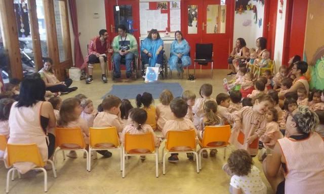 Contacontes per sensiblitzar els infants de Balaguer sobre la discapacitat