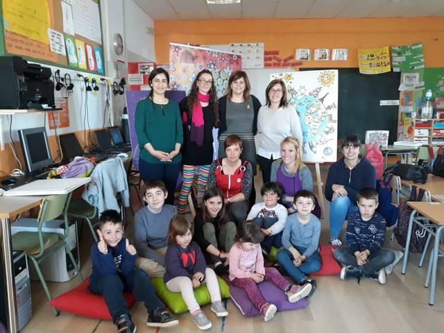 Contes del Món a l'escola de Bellmunt d'Urgell