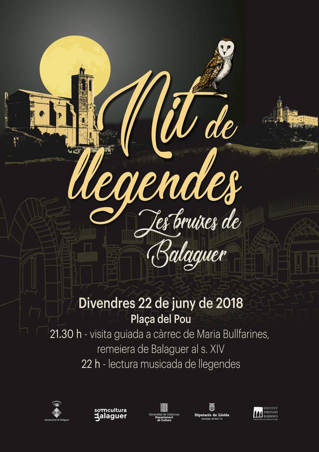 Contes i judicis a les bruixes a la Nit de llegendes de Balaguer