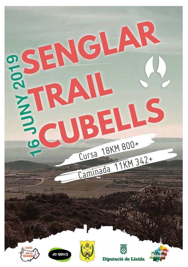 Cubells organitza la primera Senglar Trail  el proper 16 de juny