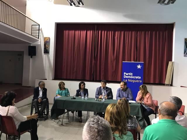 David Bonvehí presideix l'assemblea del PDeCAT a la Noguera a Torrelameu