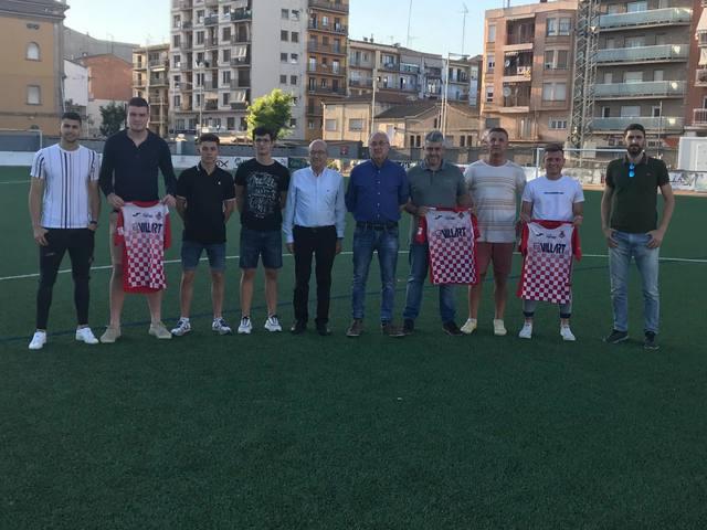 El Balaguer realitza les primeres presentacions de la temporada amb Salva Cambray i Xavier Gabernet com a màxims responsables esportius de l'equip de Segona Catalana