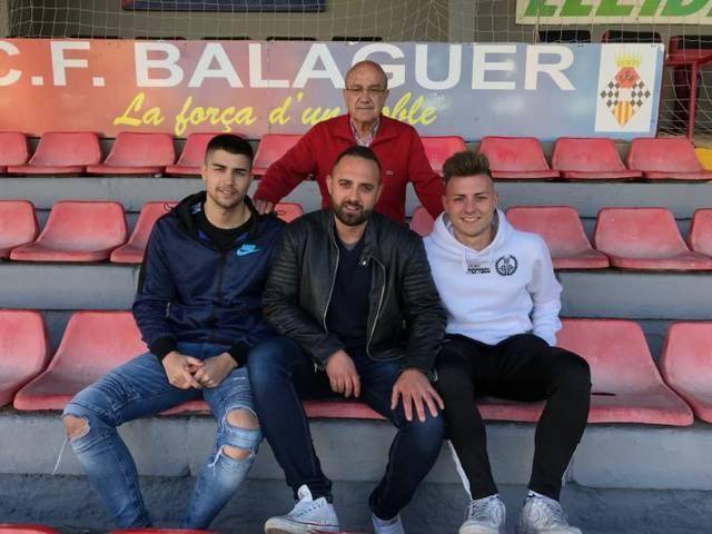 El CF Balaguer presenta el Campus de Setmana Santa