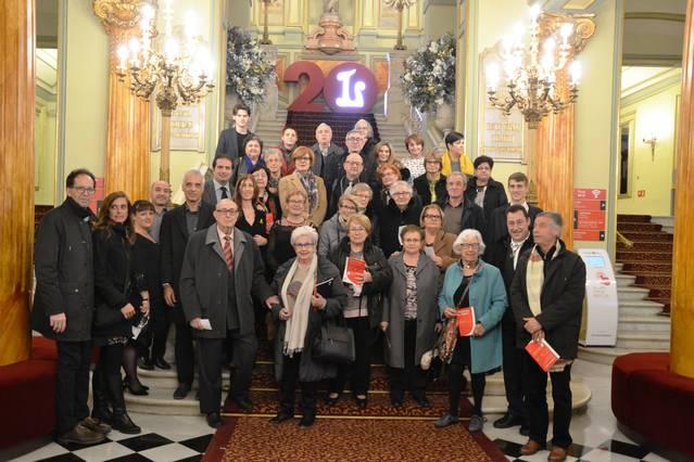 El Club de Lectura de la biblioteca d'Artesa de Segre va al Gran Teatre del Liceu