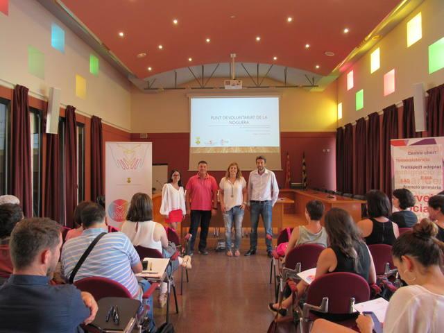 El Consell Comarcal acull una exposició sobre el voluntariat a Catalunya