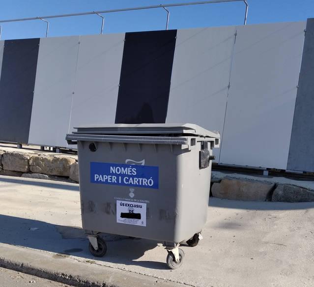 El Consell Comarcal de la Noguera posa en marxa un servei de recollida de cartró i paper a les empreses ubicades als polígons de Balaguer, Ponts i l'Hostal Nou i la Codosa de Vallfogona de Balaguer