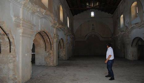 El consell demanarà llicència per a obres a Sant Francesc tot i el veto de Balaguer