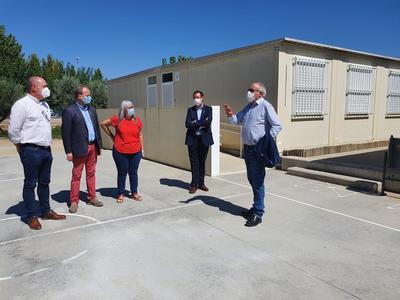 El conseller d'Educació, Josep Bargalló, visita Agramunt i Balaguer per conèixer nous projectes constructius