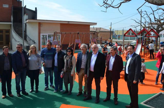 El conseller d'Empresa i Coneixement, Jordi Baiget,visita Albesa per la Cassolada de Sant Josep