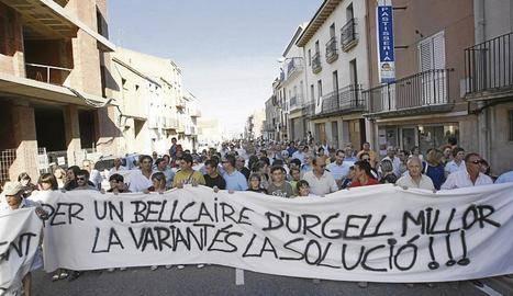 El Govern actua en sis travessies de la C-53 entre Tàrrega i Balaguer
