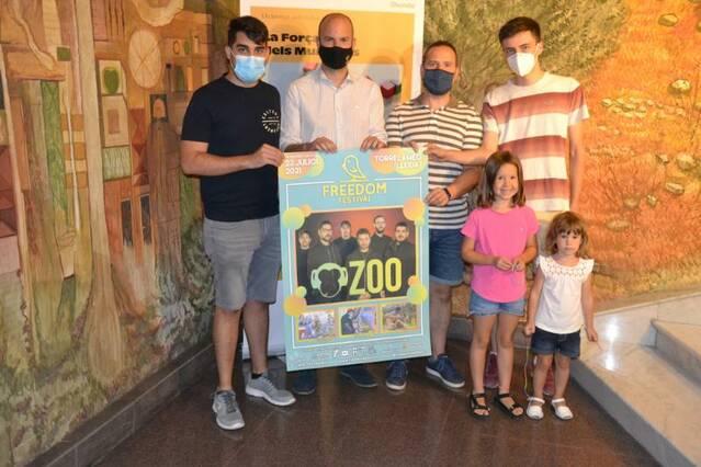 El grup valencià Zoo, cap de cartell de la quarta edició del Freedom Festival de Torrelameu