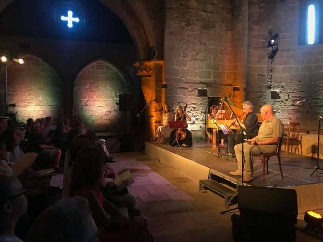 El Juliol de Música i Poesia omple el monestir cistercenc de Santa Maria de les Franqueses