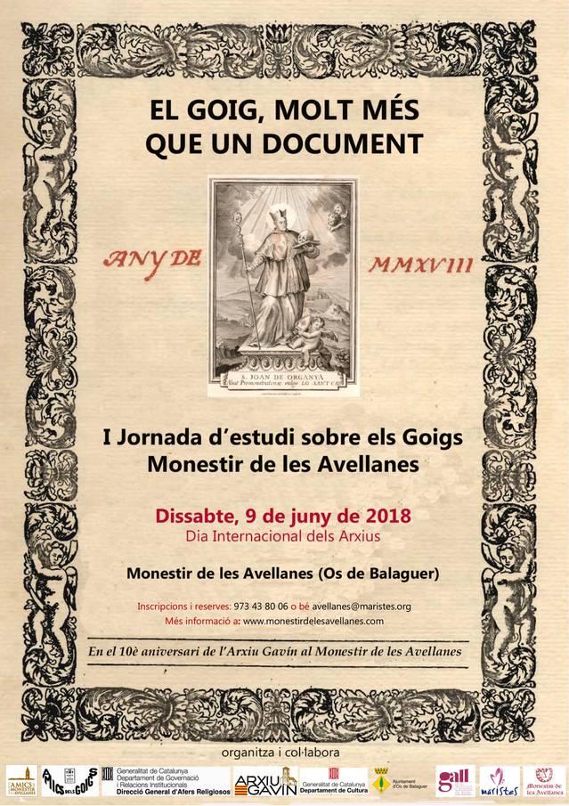 El Monestir de les Avellanes acull la I Jornada d'estudi sobre els Goigs