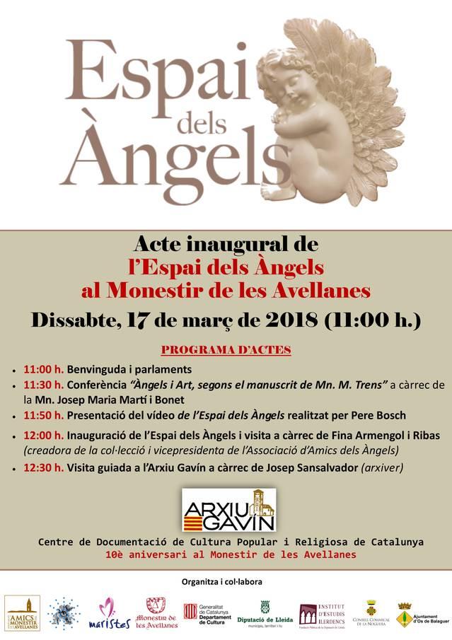 El Monestir de les Avellanes inaugura l'Espai dels Àngels