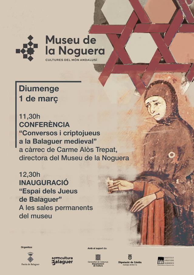 El Museu de la Noguera inaugura un nou espai dedicat als jueus a les seves sales permanents