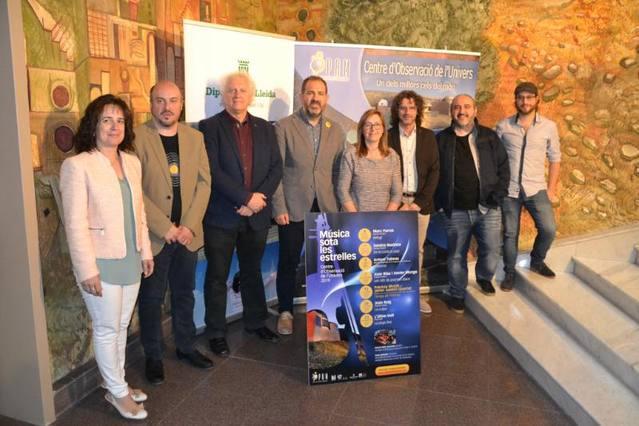 El Parc Astronòmic del Montsec programa set concerts contemplant l'Univers