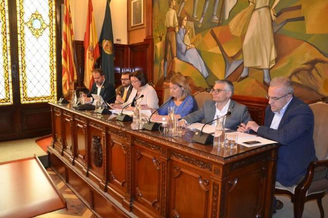 El Ple de la Diputació aprova l'aportació de 3.590.000 € als consells comarcals en concepte d'assistència tècnica i cooperació municipal per al 2019
