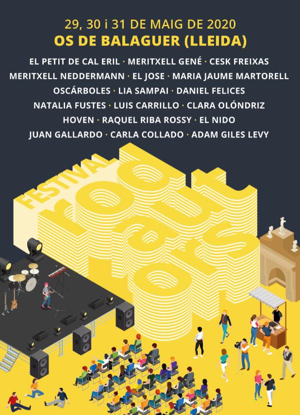 El IV festival 'Rodautors', que ja té el cartell definitiu, acollirà 18 actuacions entre el 29 i el 31 de maig a Os de Balaguer