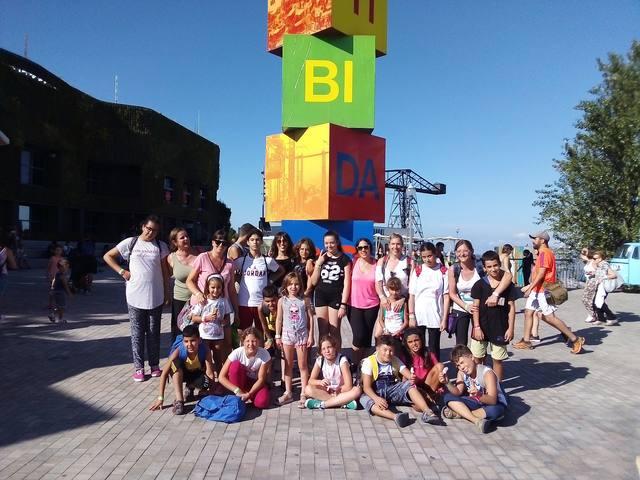 El Servei d'intervenció socioeducativa de la Noguera visita el parc d'atraccions del Tibidabo