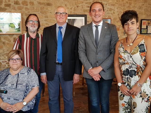 El subdelegat del Govern a Lleida es reuneix amb l'alcalde de Ponts