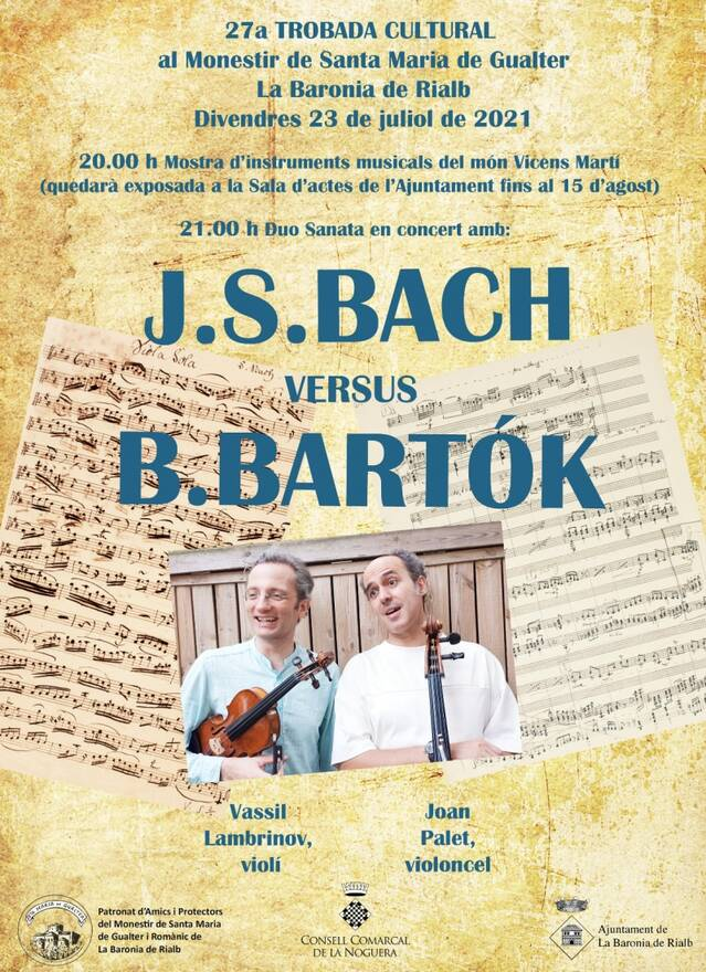 El violinista de Blaumut en concert al Monestir de Gualter