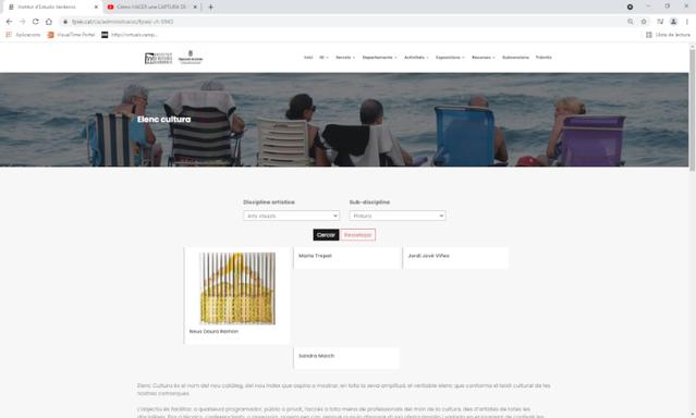 'Elenc Cultura', una nova eina al servei dels ajuntaments i dels programadors culturals