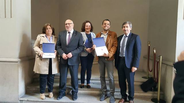 Els ajuntaments d'Ivars de Noguera, Preixens i Foradada, reconeguts com a pioners en la implantació de la Finestreta Única Empresarial