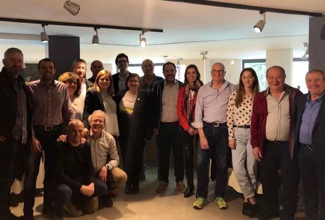 Els caps de llista de JxCAT a la Noguera es reuneixen amb la presidenta de la Diputació