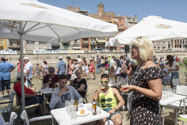 Els maridatges amb cervesa centren les activitats del diumenge de San Miguel a la Transsegre de Balaguer
