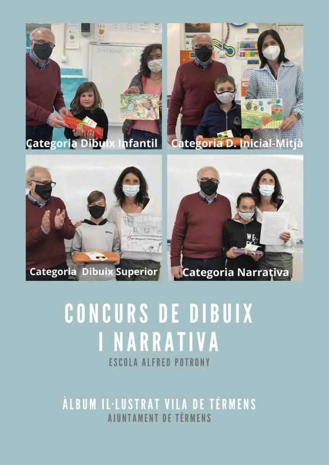 Entrega de premis delconcurs de dibuix i narrativa del 2n Premi d'Àlbum Il·lustrat Vila de Térmens