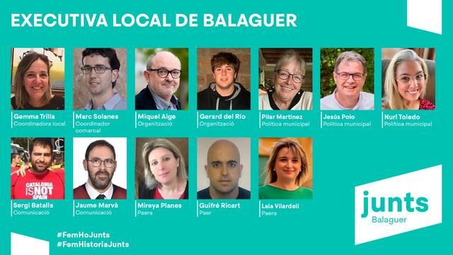 Es constitueix l'executiva de Junts per Catalunya a Balaguer