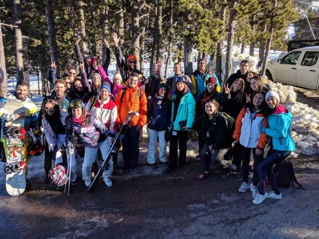 Èxit de l'Esquiada Jove de la Noguera a Port Ainé