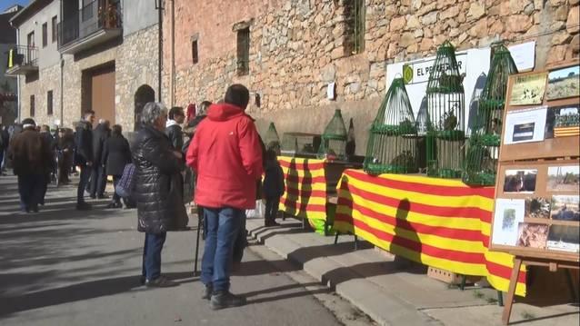 Èxit de visitants a la centenària Fira de la Perdiu