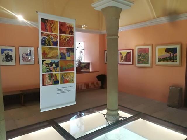 Exposició 'Antologia' a la Sala Capitular del Monestir de les Avellanes