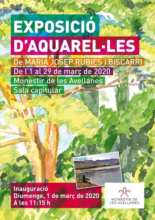 Exposició d'Aquarel•les a la Sala Capitular del Monestir de les Avellanes
