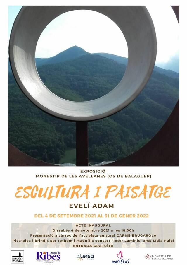 """Exposició """"Escultura i Paisatge"""" al Monestir de les Avellanes"""